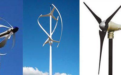 Turbinas eólicas pequeñas