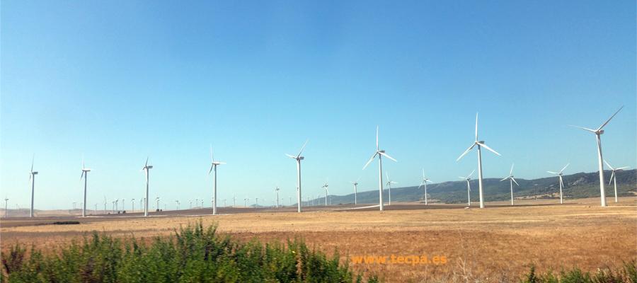 La energía eólica en España 2021