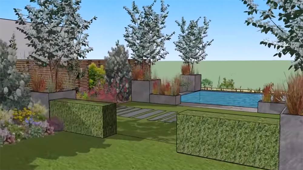 Software gratuito de dise o de jardines formaci n de for Diseno de jardines y exteriores 3d