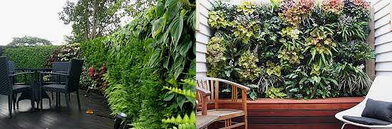 jardines verticales en hoteles 2020