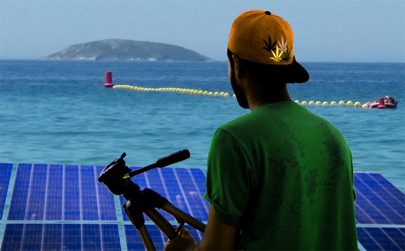 La desalación de agua marina con la ayuda de la energía solar