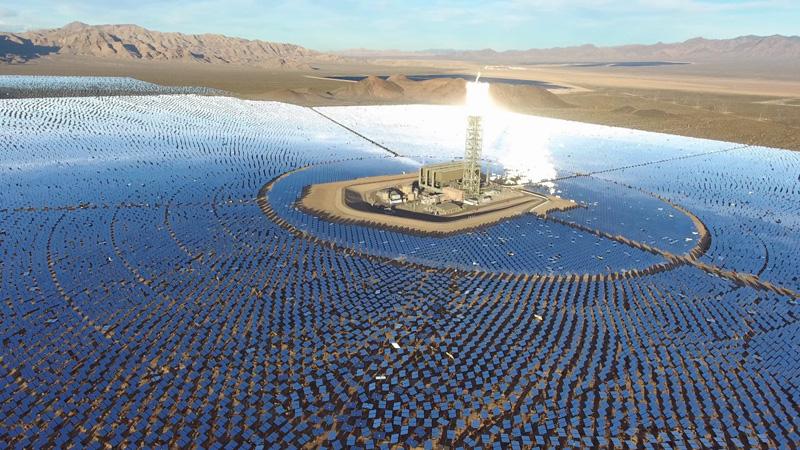 Ivanpah: la central de energía termosolar más grande del mundo