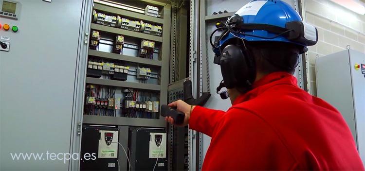 el control de proceso en una depuradora de aguas residuales