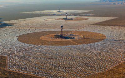 La central de energía termosolar más grande del mundo
