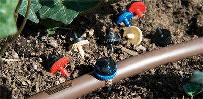 emisores autocompensantes para riego de jardines