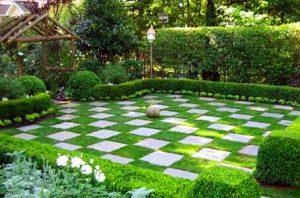 ajedrez y jardin