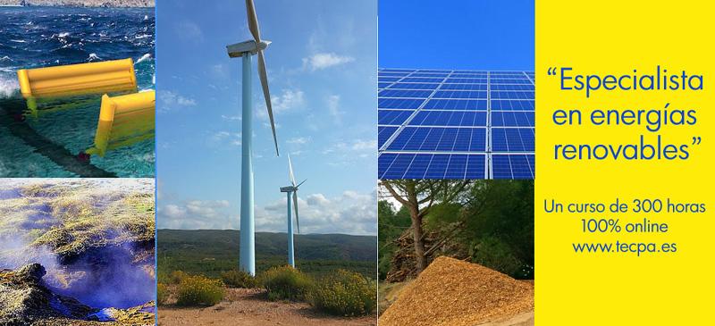 Curso de especialista en energías renovables