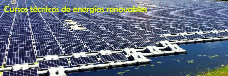 Cursos de energías renovables