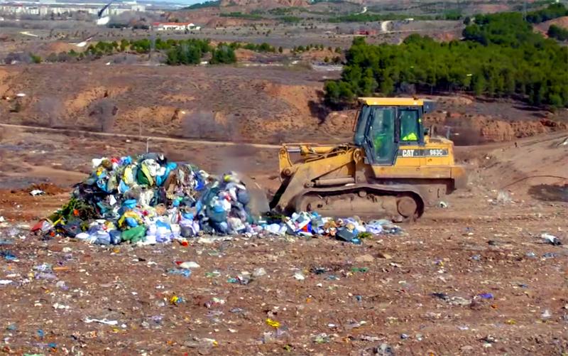 vertedero residuos industriales