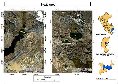 Estudio ambiental laguna Cumunni y Lunar en Perú
