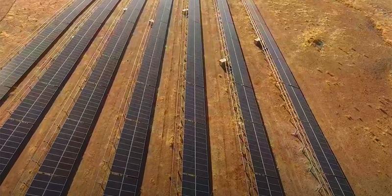 La central fotovoltaica