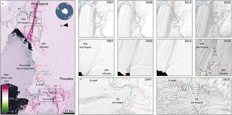 calentamiento global glaciar