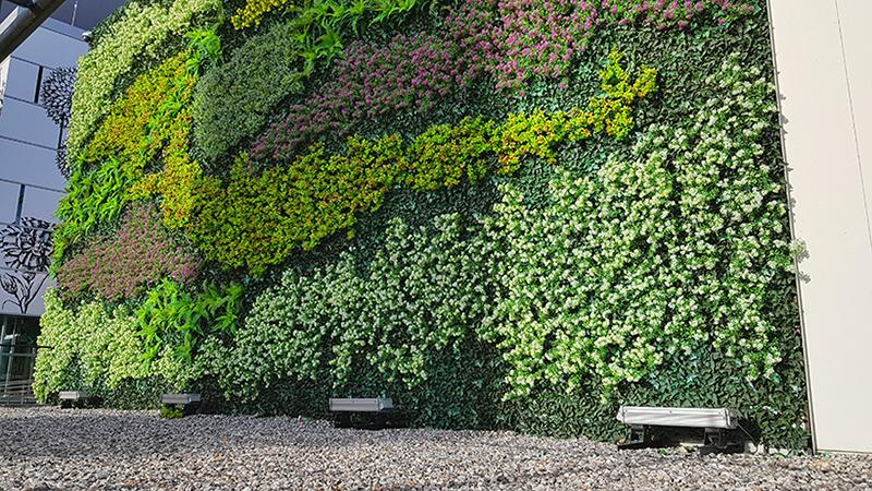 Un gran curso de jardines verticales 2021 desde Madrid