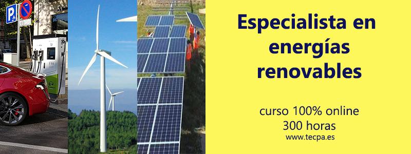 curso de postgrado en energías renovables